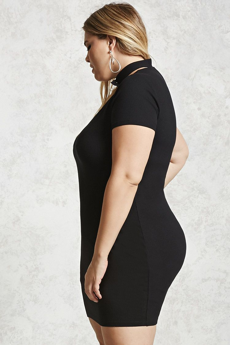 Plus Size Choker Dress Forever 21 PLUS