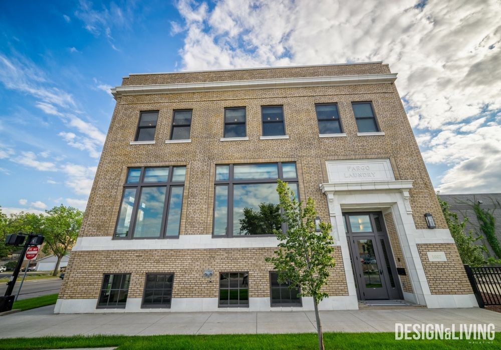 20th Century Fargo Laundry Building Transformed Into Luxury Home