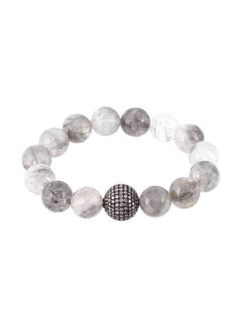 """Compre Gemco Pulseira """"bolas de diamantes"""" em Jewellery Atelier from the world's best independent boutiques at farfetch.com. Compre em 400 boutiques em um único endereço."""