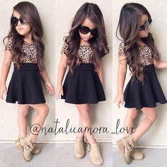 Fashion style girl dress