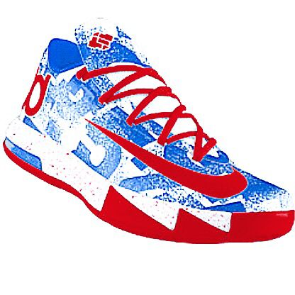 huge selection of 7736c 96f75 Kd VI MVP ID Red White Blue Nike Kd Vi, Kd 6, Red White