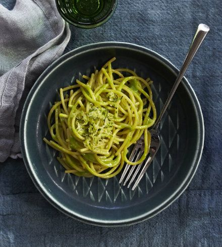 This October, celebrate National Pasta Month with guest chef, cookbook author, and expert on all things Italian, Francine Segan, as she shows us how to turn fresh zucchini from the garden into a delicious add-in and glaze for your favorite spaghetti noodles. Strain, top with cheese, and enjoy.