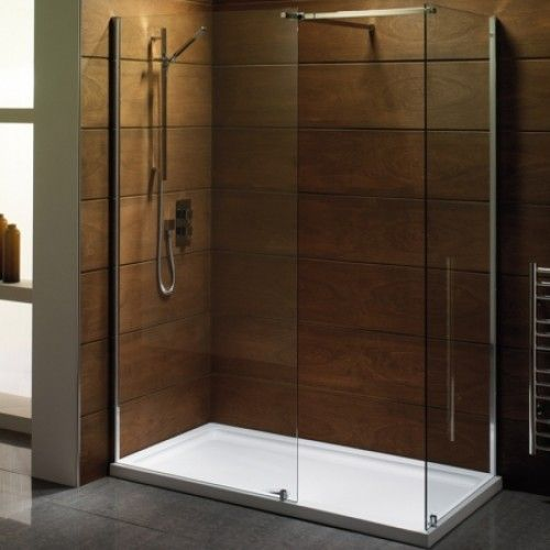 High Quality Walk In Enclosures : Saneux WALKIN 850 X 8mm Walk In Front Panel Including. Shower  Wall ...