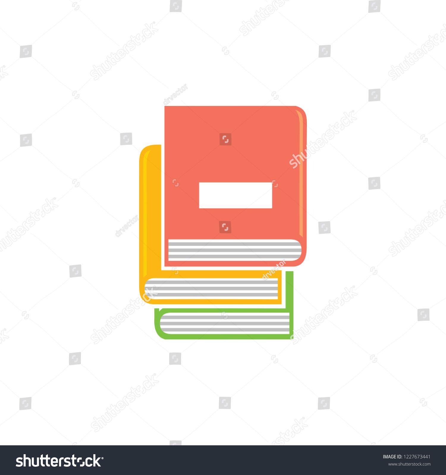 Books Icon Vector Education Books Books Library Education Icon