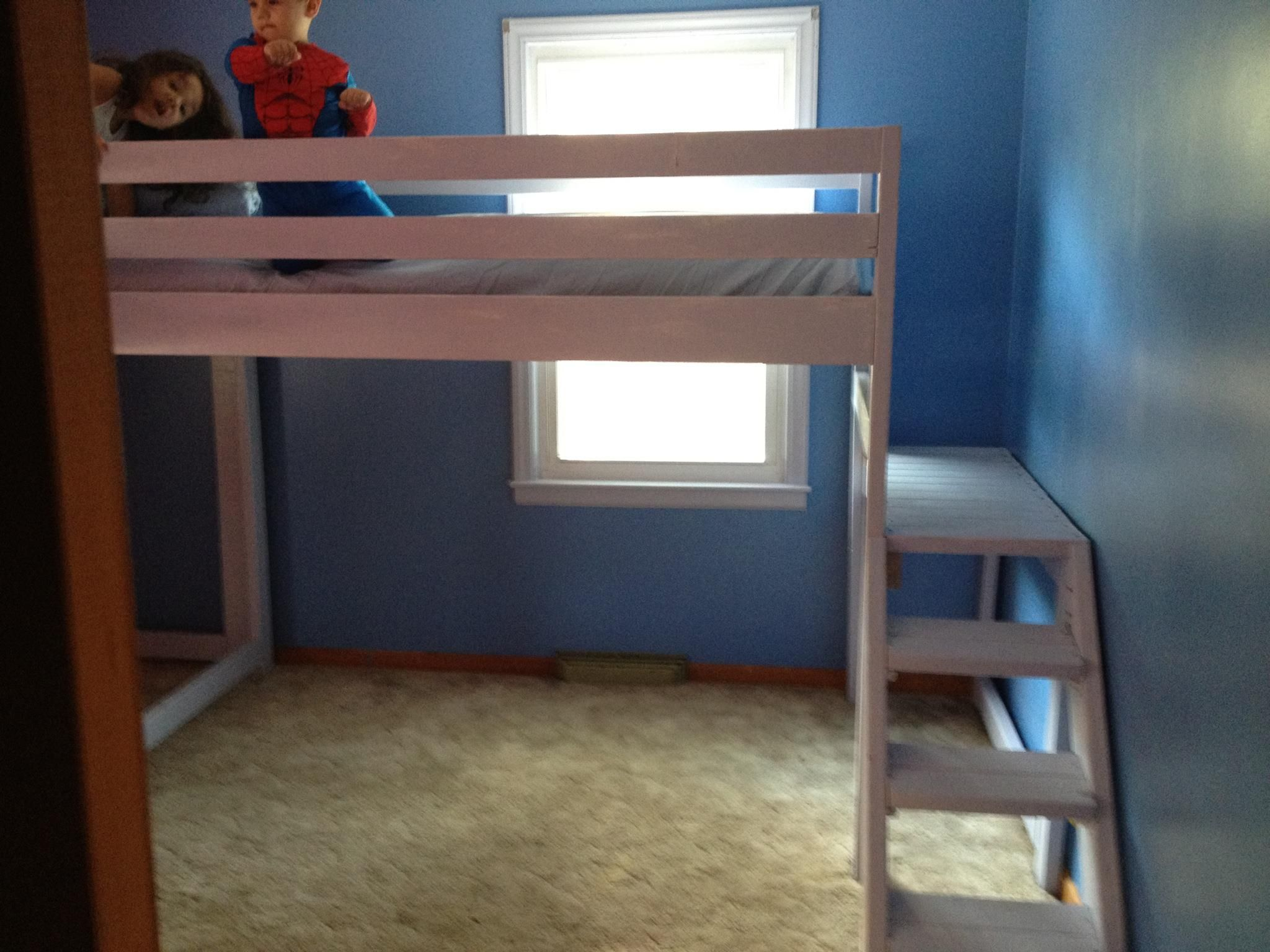 Pinterest Do It Yourself loft beds with platform