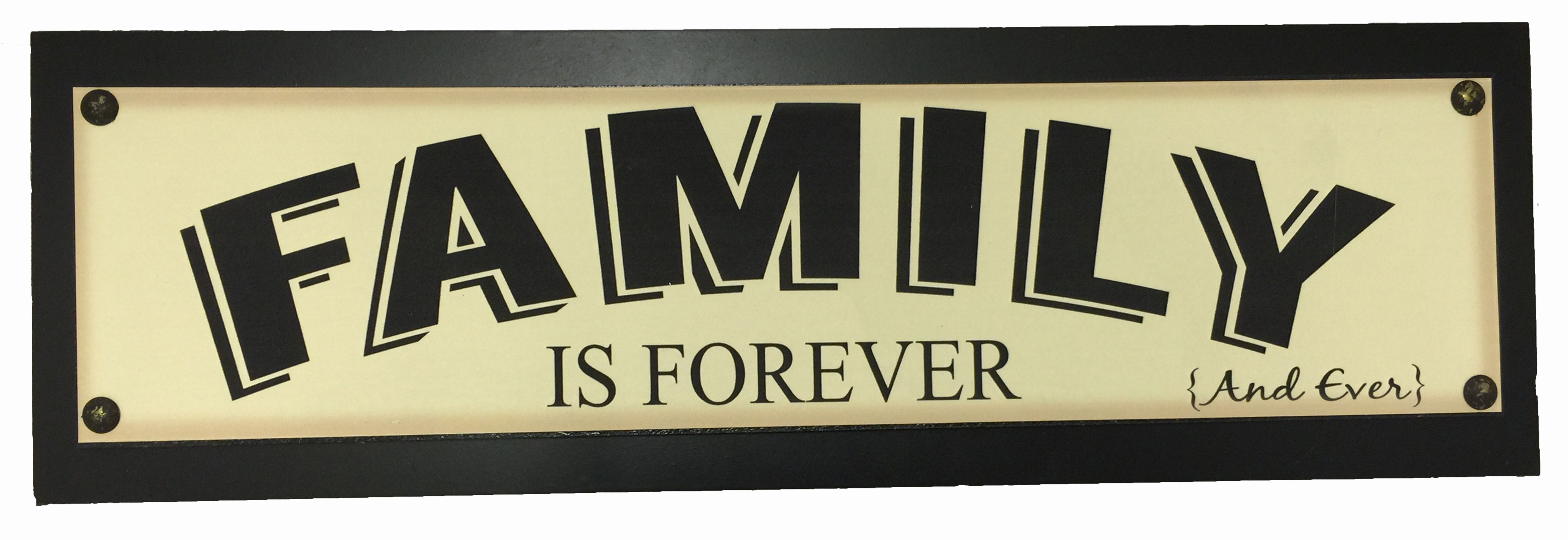 Exelent Families Are Forever Wall Decor Elaboration - All About ...