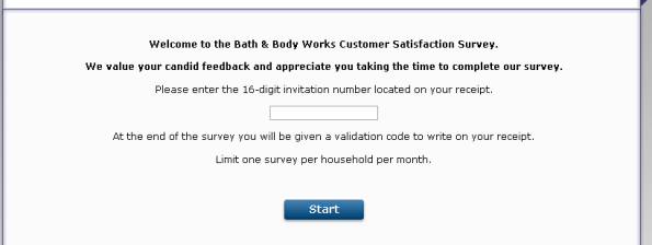 Bath  Body Works Customer Satisfaction Survey Www