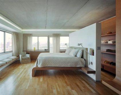 cabina armadio dietro al letto | Camera da letto arredamento, Idee per la stanza da letto ...