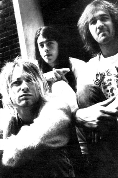 Nirvana Photoshoot for Alternative Press. 1991,US
