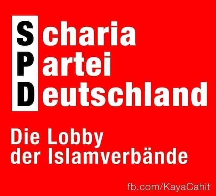 SPD Scharia Partei Deutschland Die Lobby der Islamverbände