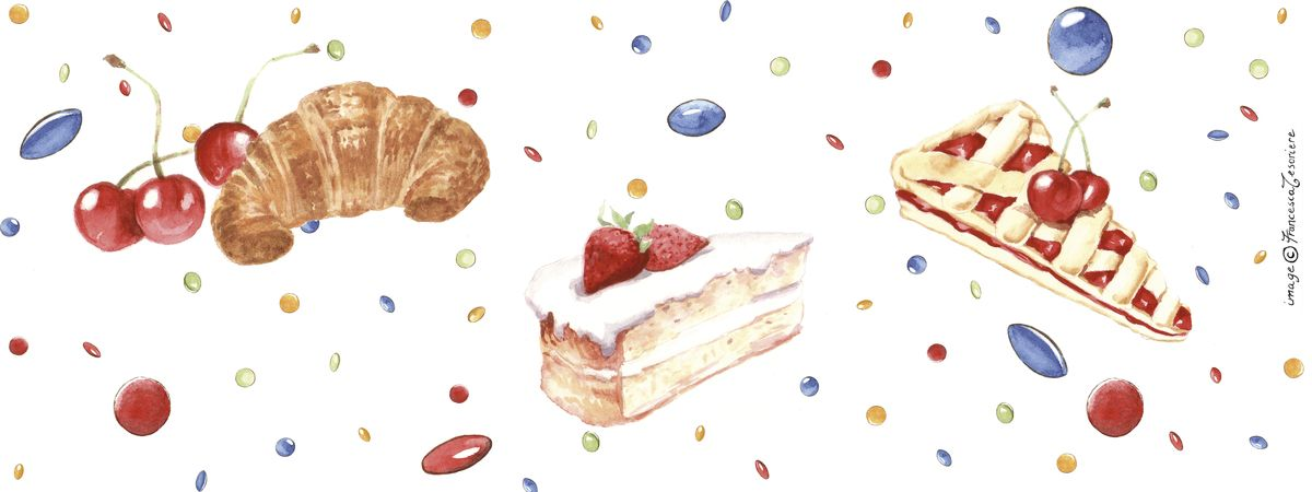 Sweets in white by Francesca Tesoriere
