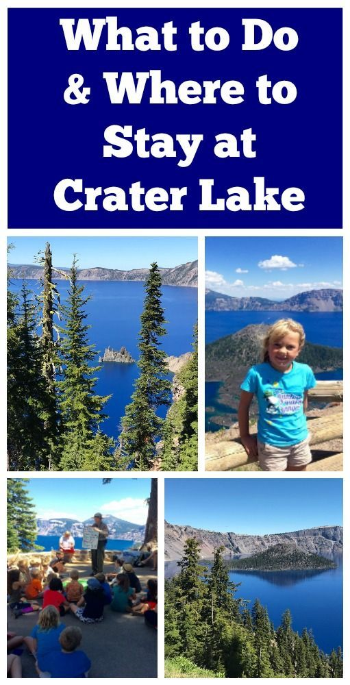 How to Spend the Day at Crater Lake National Park - Kidventurous
