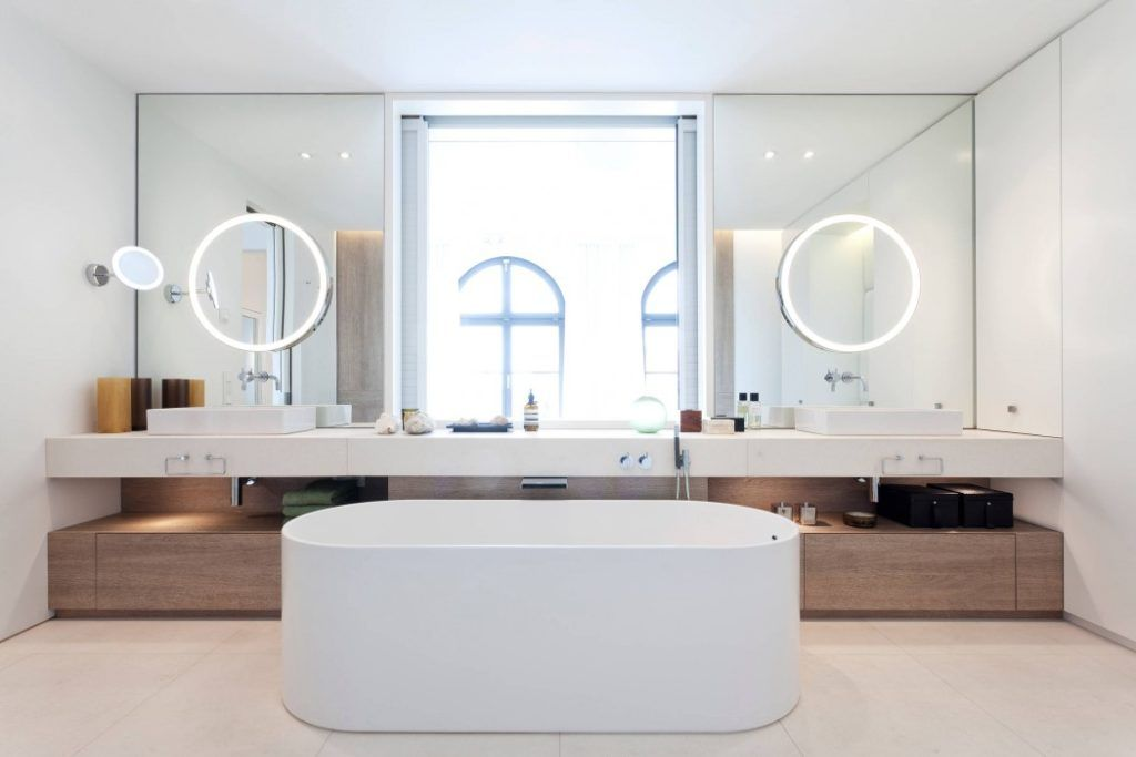 Penthouse In Berlin By HANSENWINKLER Bathrooms Innenarchitektur Badezimmer  Berlin