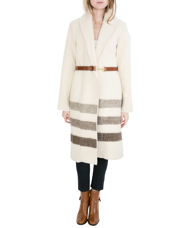 Woolrich Blanket Coat / AnnMashburn.com