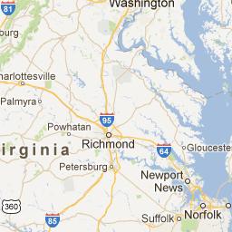 Richmond Virginia Zip Code Map.Virginia Zip Code Boundary Map Va Land Pinterest Virginia