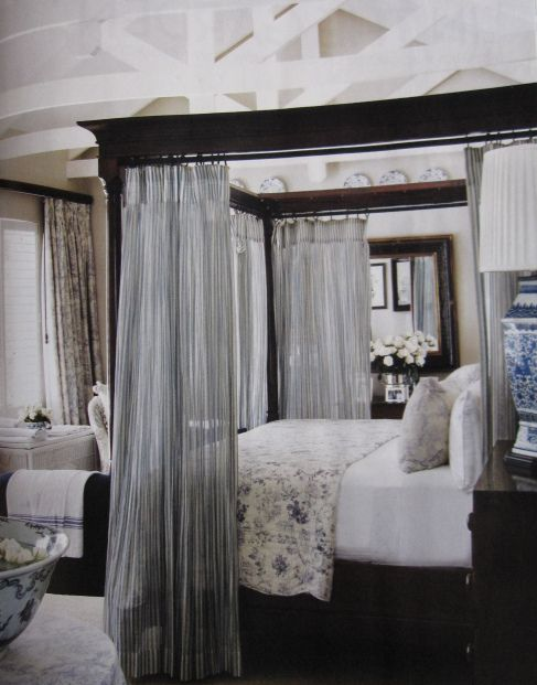 New Curtain Bed Frame