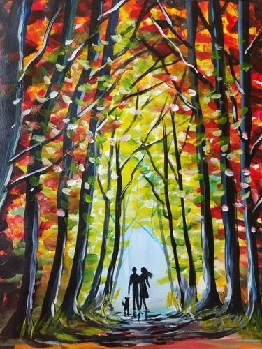 Amazing Paint Nite events near Salt Lake City UT Fresh - Review lake painting Pictures