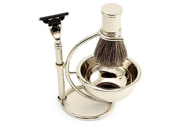 Shaving Kit, Silver