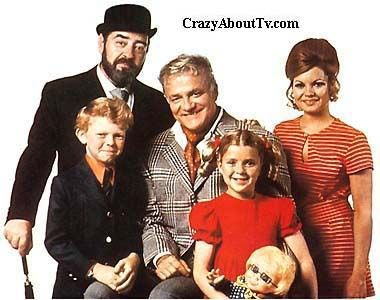 Family Affair -- Uncle Bill, Mr  French, Sissy, Buffy, and