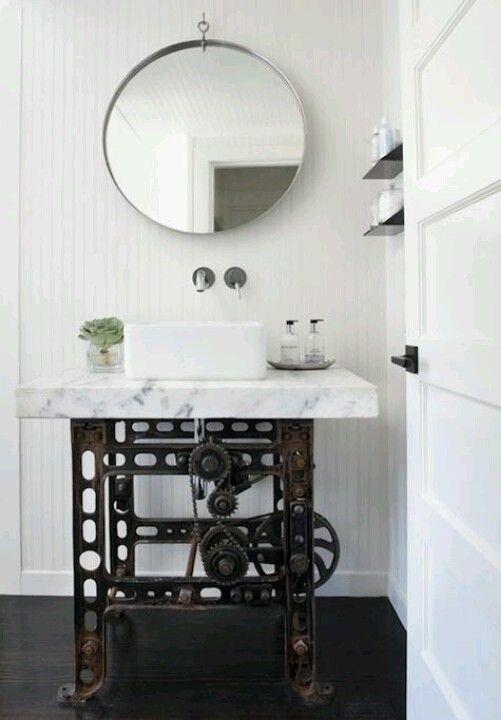 Dream Steampunk Style Bathroom Sink Industrial Style Bathroom