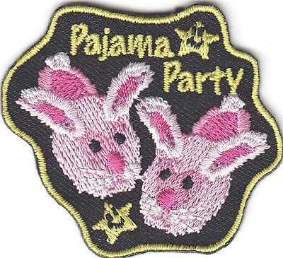 "FASHION /""GIRLS NIGHT OUT/"" PARTY FUN GIRLY Iron On Embroidered Patch"