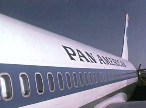 N710PA, Jet Clipper America, a Pan Am Boeing 707-121B