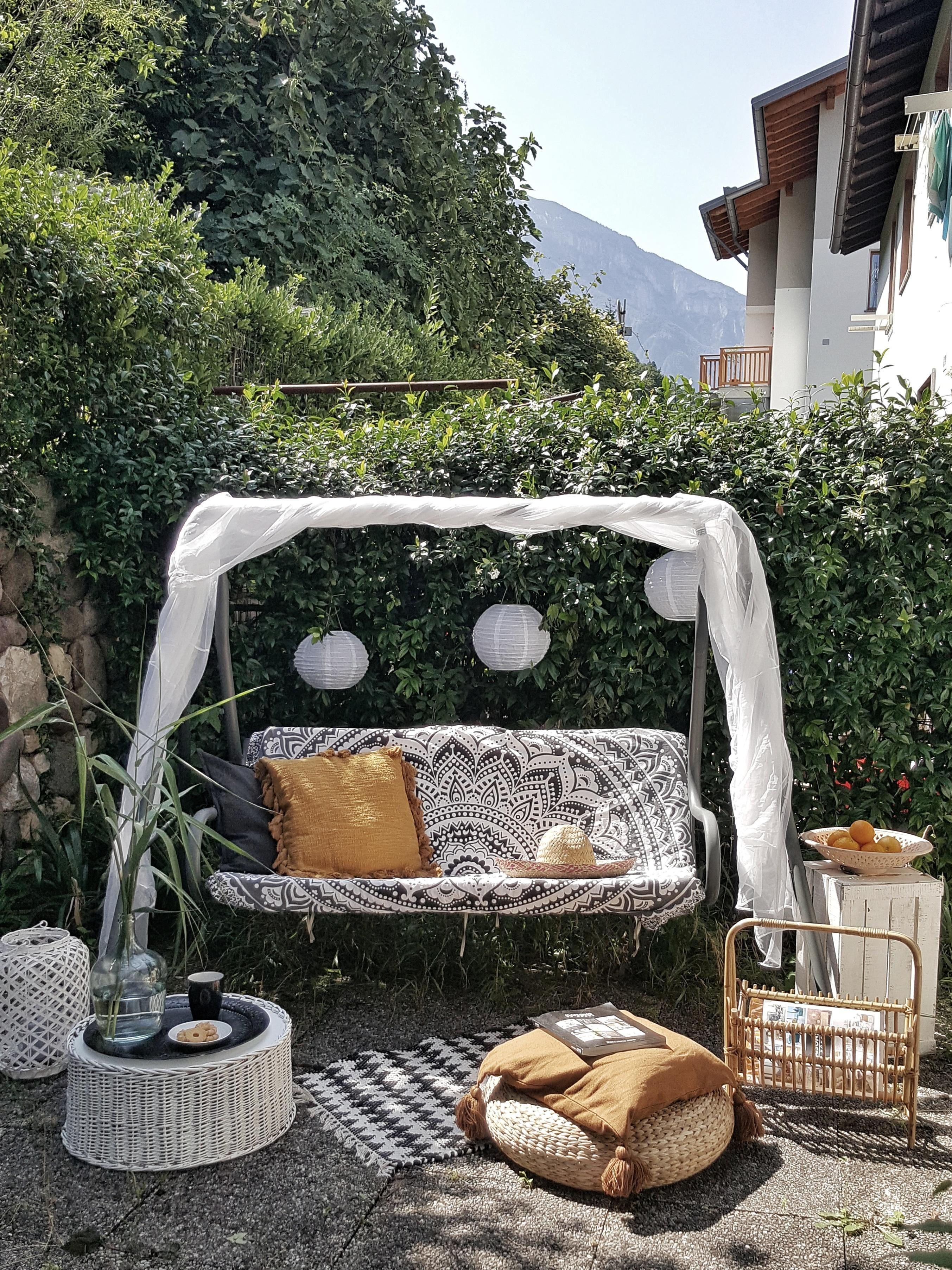 Endlich zuhause in Italien #garten #ethnostil #boho …