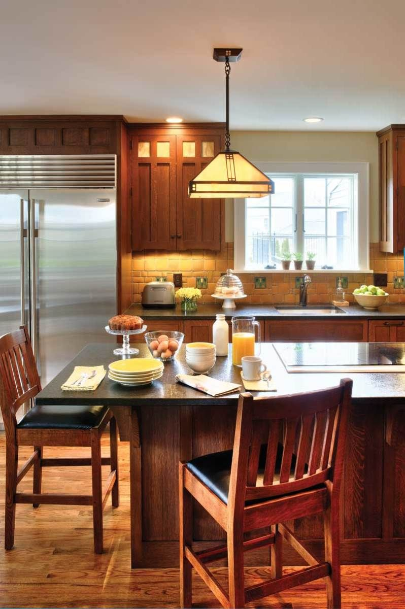 Perfect Kitchen for a Pottery Collector