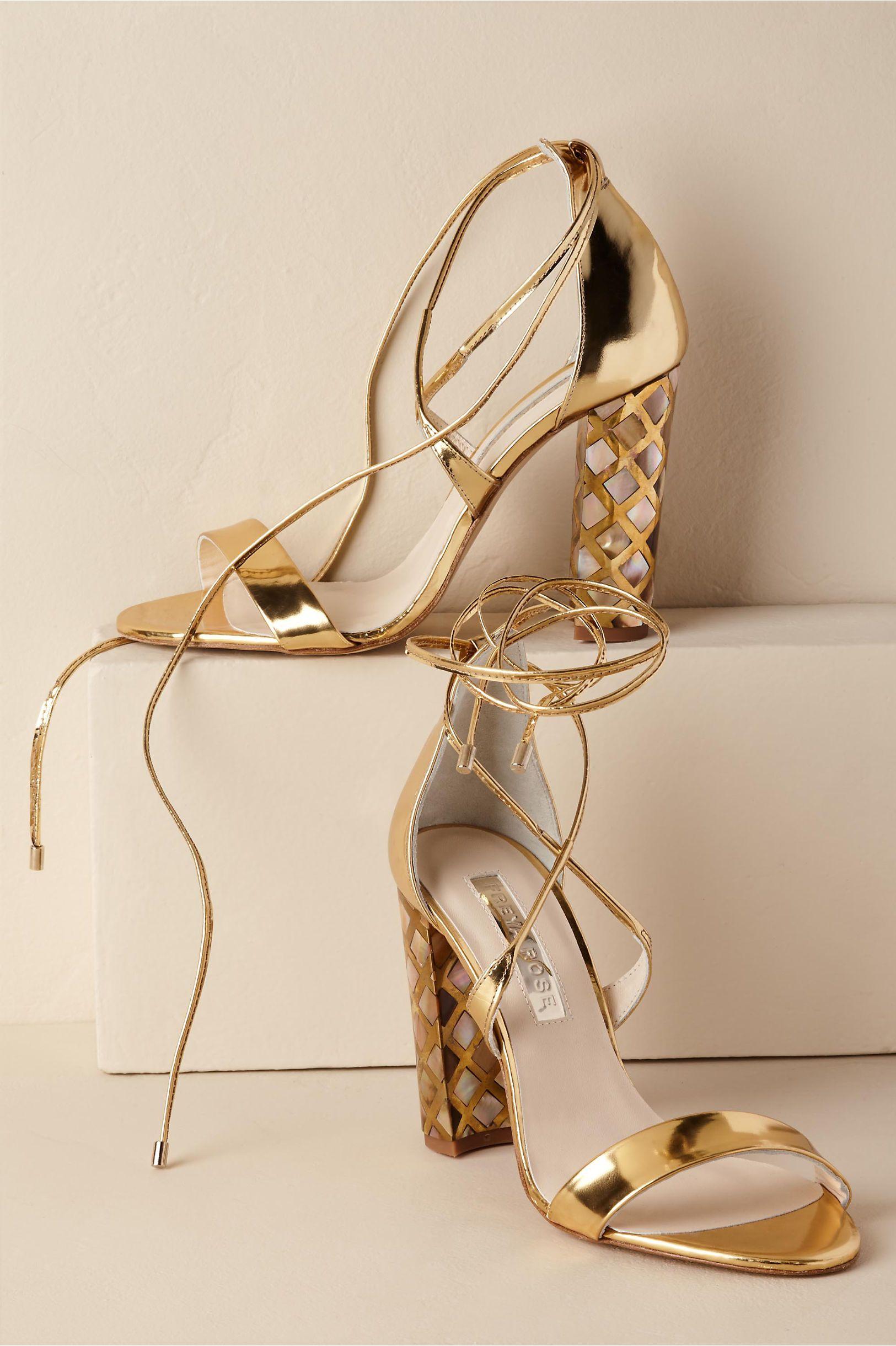 1ebefc3bee1 BHLDN s Freya Rose Courtney Heel in Gold