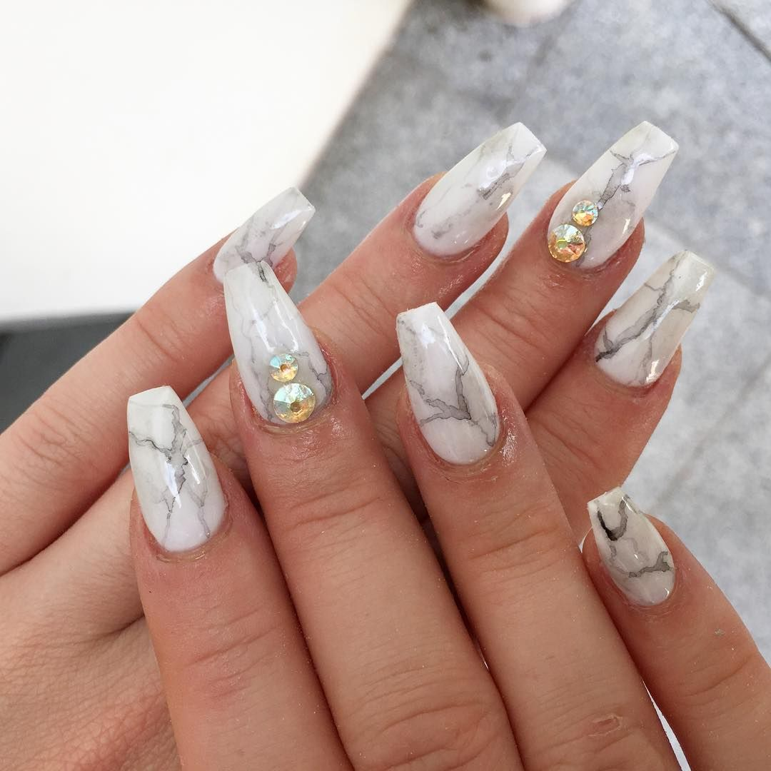 Pinterest: @NewWaves | Nails | Pinterest | Simple acrylic nails and ...