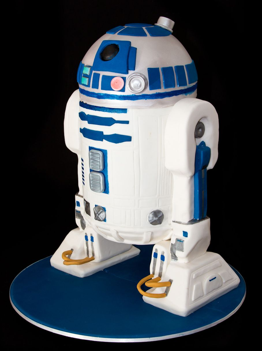 gateau r2d2 vid o r2 d2 star wars cake and cake. Black Bedroom Furniture Sets. Home Design Ideas