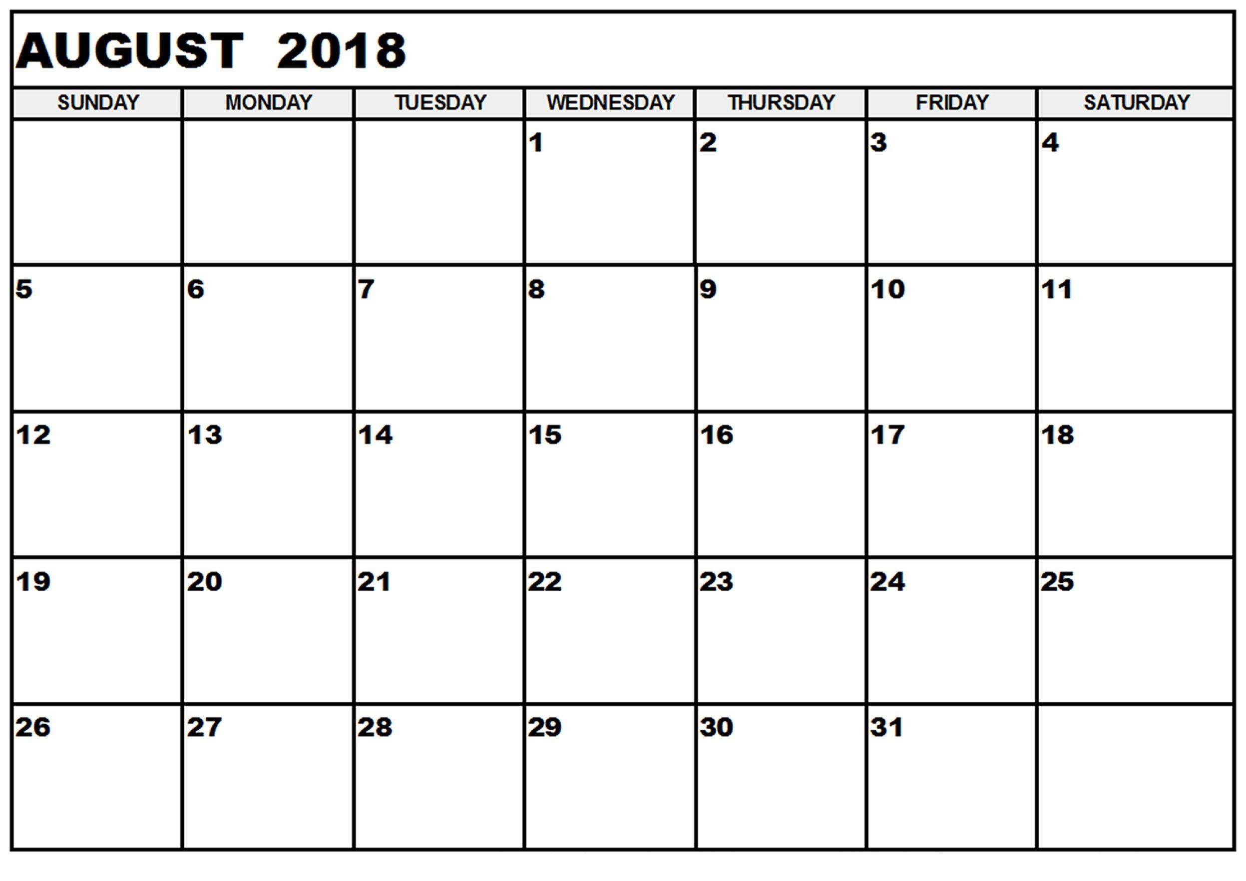 Pin by 4khd on August Month Calendar 2018 Pinterest