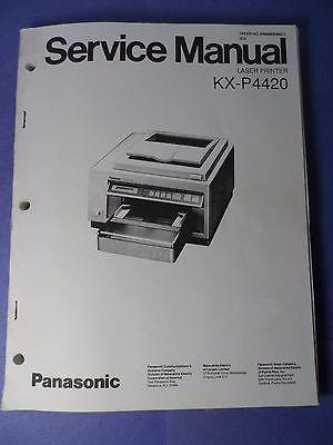 panasonic kx p4420 laser printer service manual schematics logic rh pinterest com Panasonic Cordless Phones panasonic laser marking manual