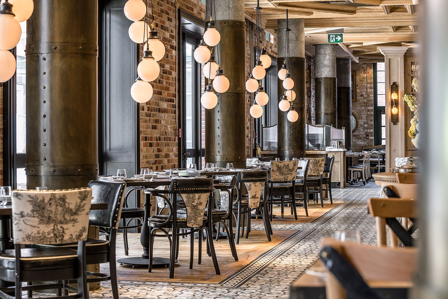 Cluny Bistro Boulangerie The Distillery District Toronto Interior Design By Studio Munge