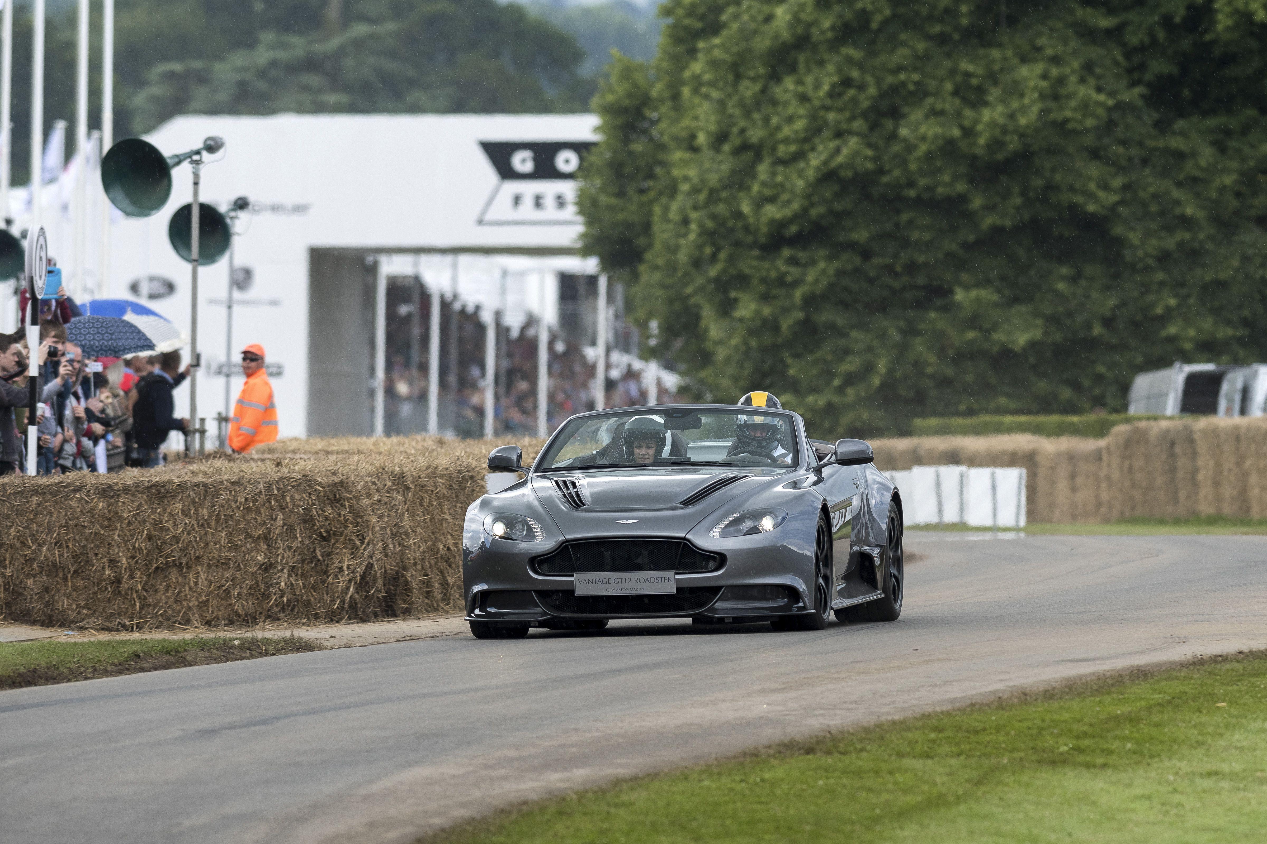 Aston Martin Goodwood Festival of Speed 2016