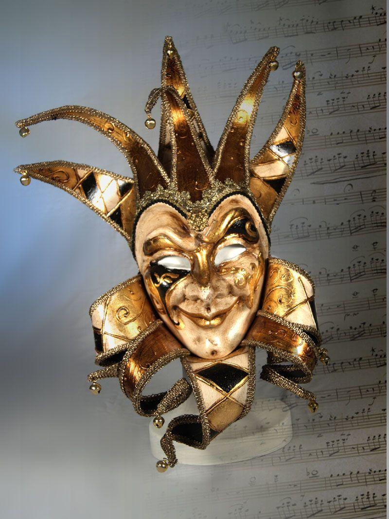venetian jester masks - Google Search | masquerade ...