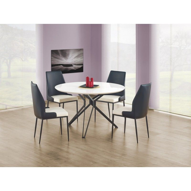Table A Manger Design Pixel Atylia Table A Manger Design Salle A Manger Blanche Table Salle A Manger