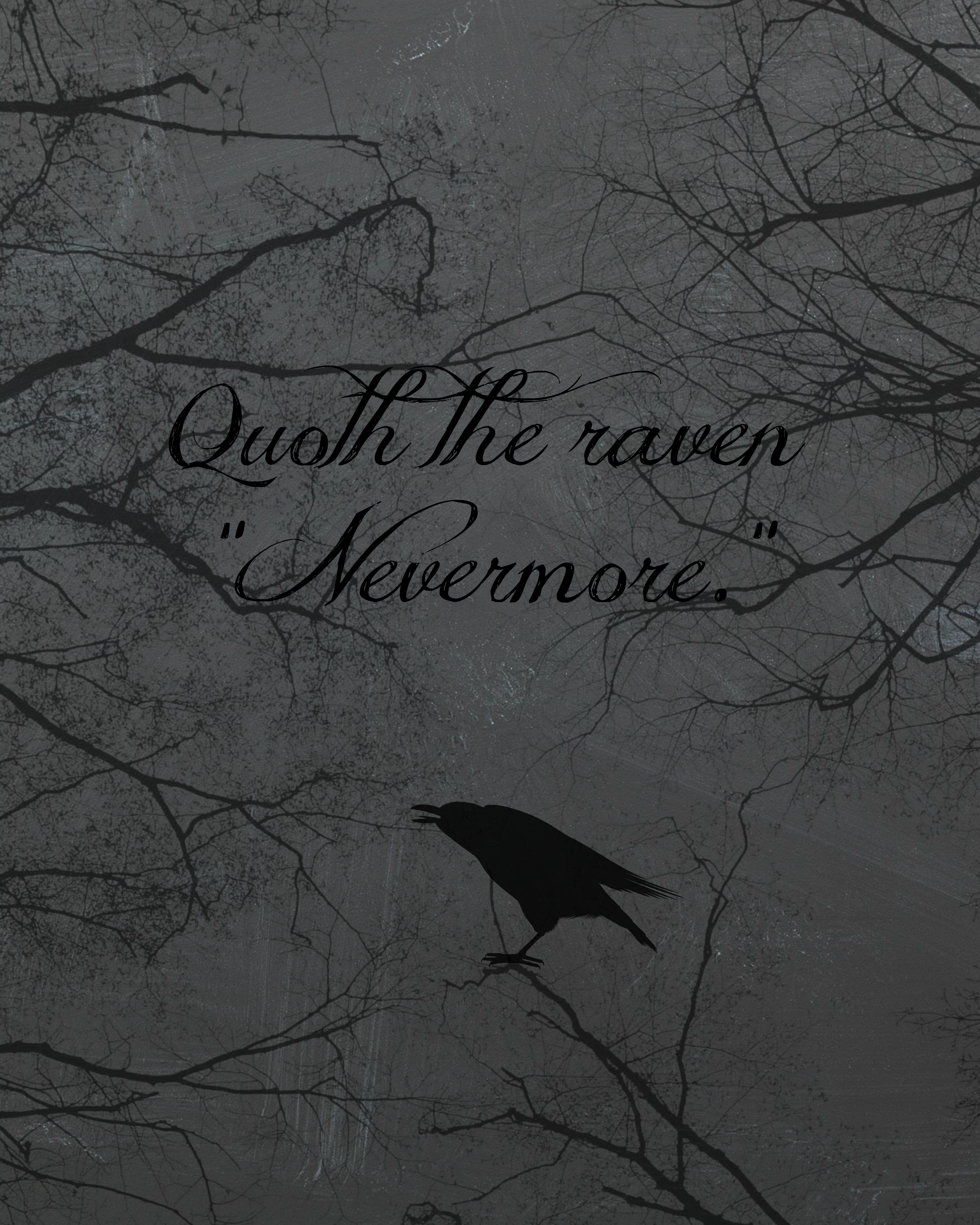 Quoth-the-raven-Nevermore.-printable-from-cupcakesandcrinoline ...