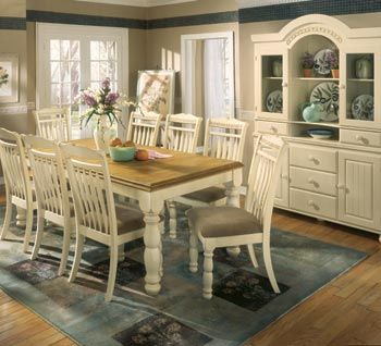 Ashley Cottage Retreat Dining Room Set My Space Makeover