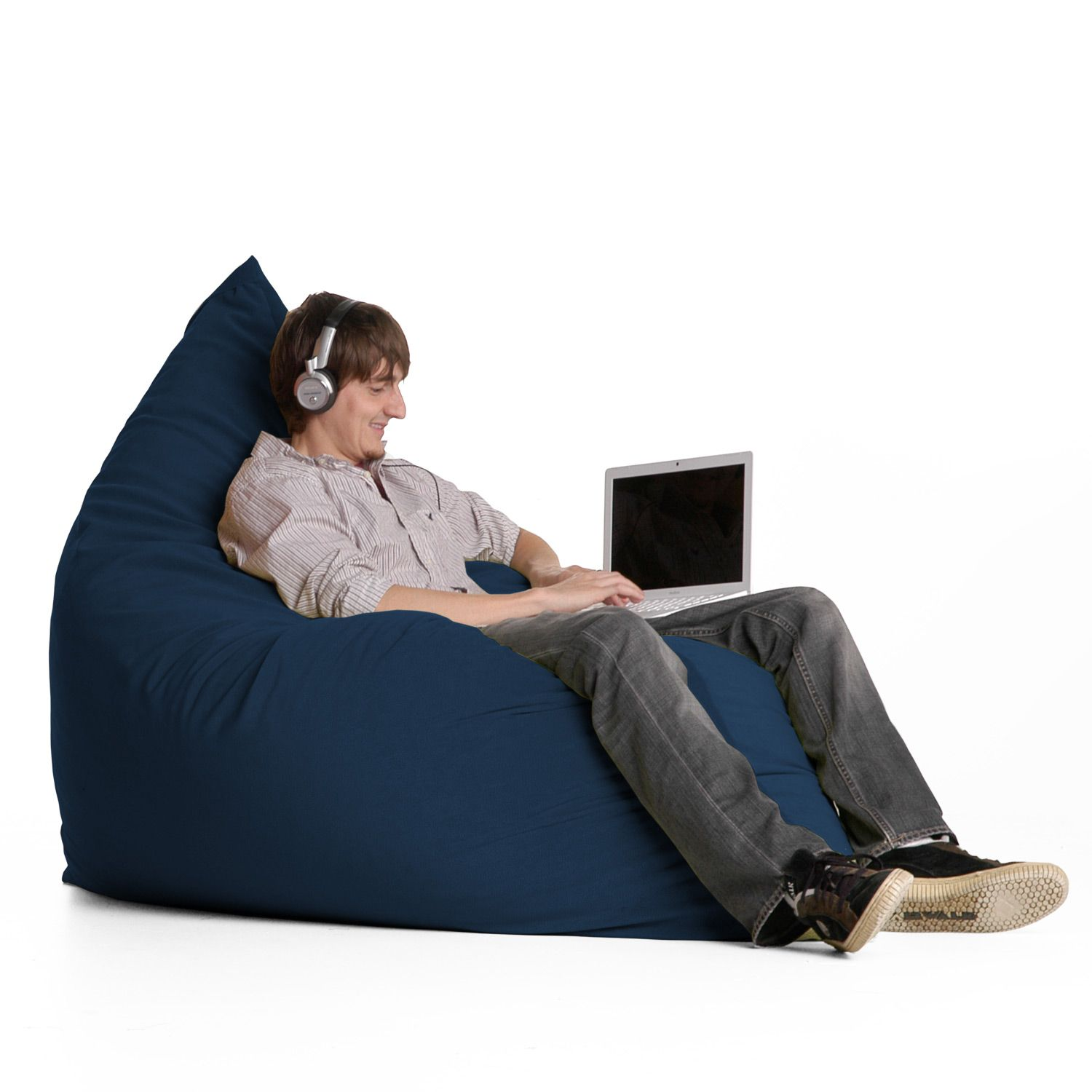 Jaxx Pillow Sak The Ideal Lounger For Teenagers Mold It And Shape It And Sit In It However You Want Lay It Flat And Use Sitzsack Sofa Sitzsack Bett Sitzen