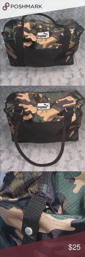 Photo of Camo Carry On Bag New without tags! Good size. Great for traveling (as a carry o …