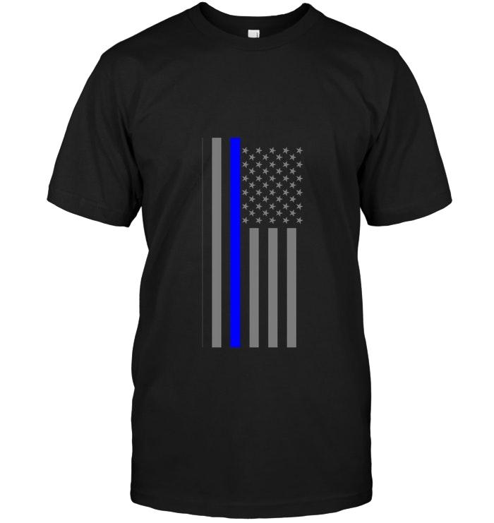 Thin Blue Line Us Flag Thin Blue Lines Blue Line Too Thin