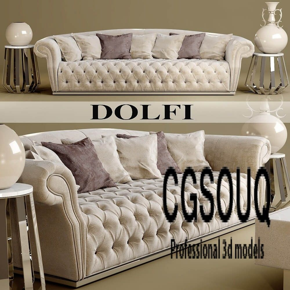 Dolfi Sofa 3d Model Luxury Sofa Sofa Design
