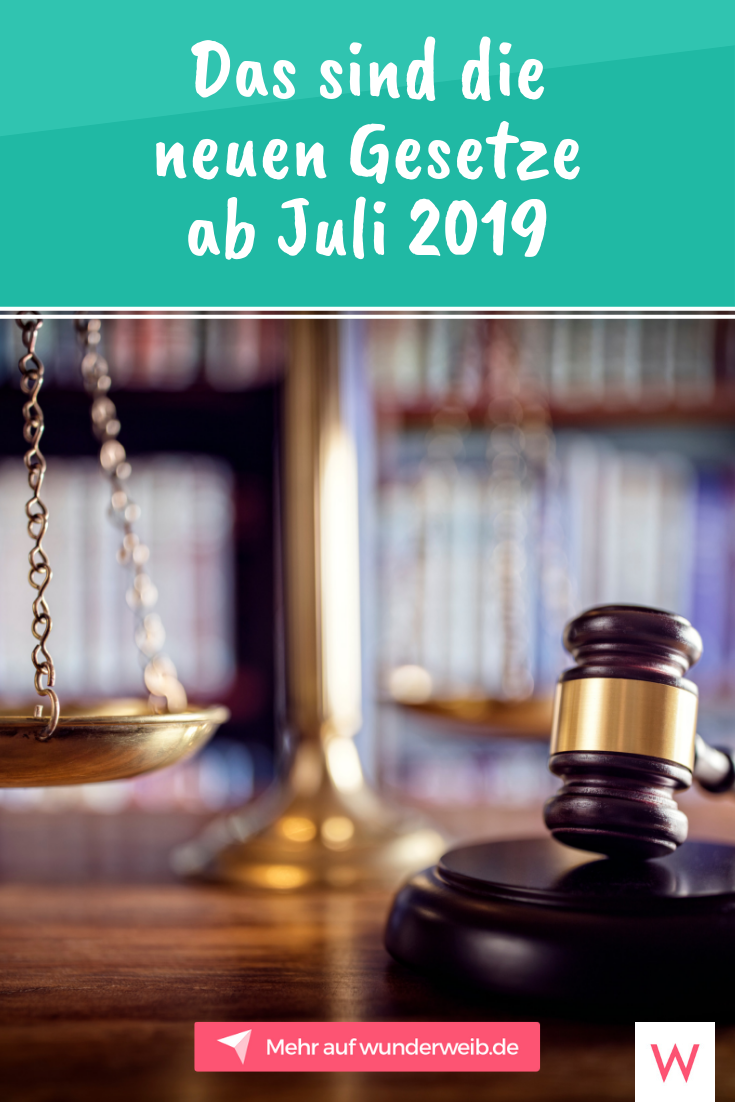 Änderungen juli 2019