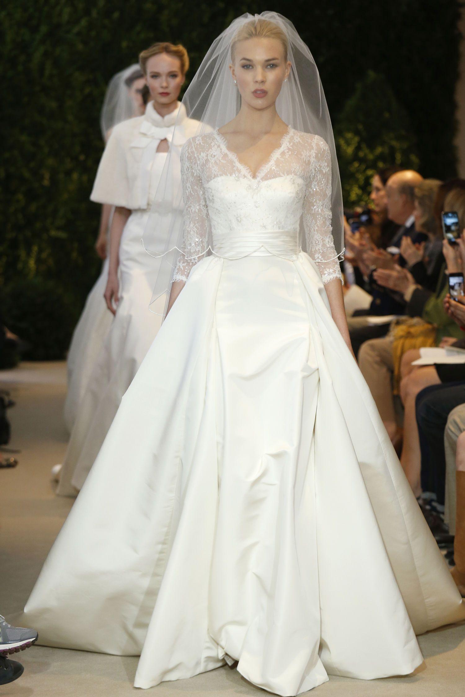 Repurpose wedding dress  Carolina Herrera