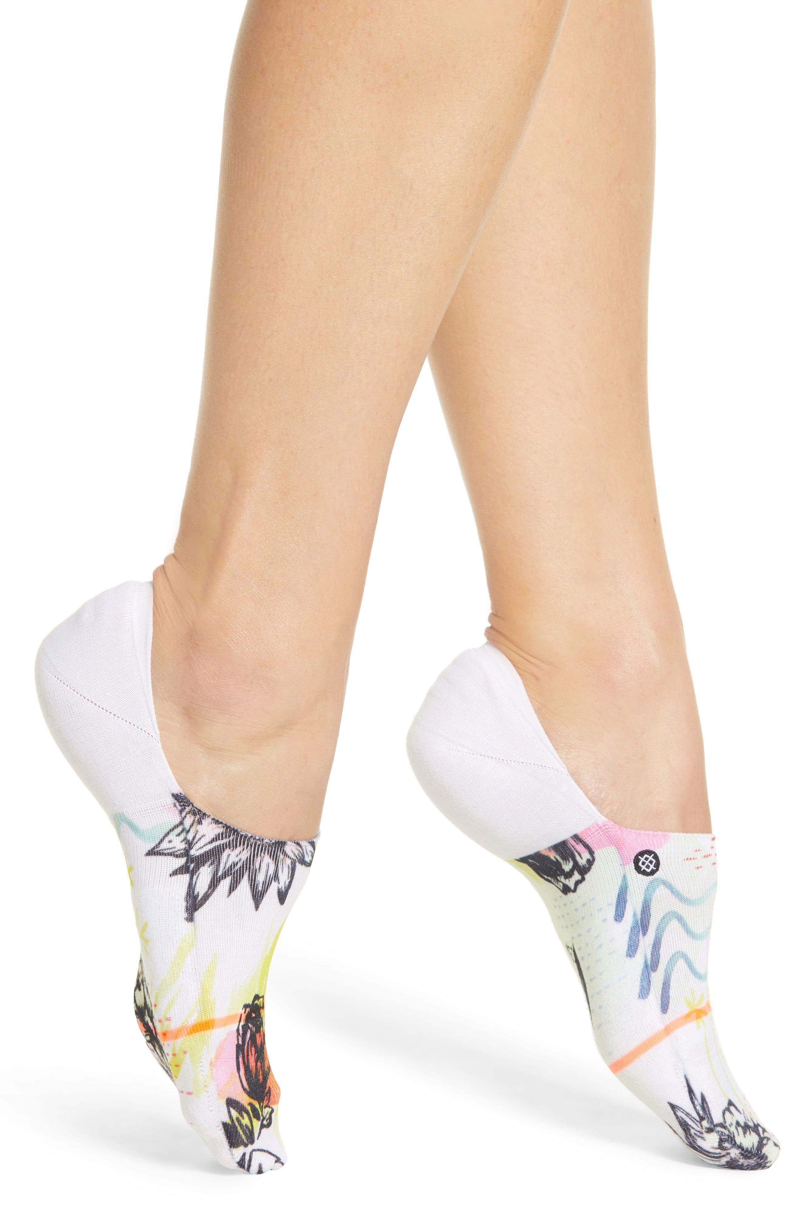 Stance Sonic Crew Socks in White