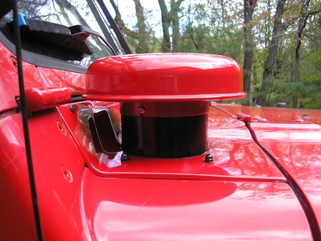 Tj Quot Hummer Quot Cold Air Intake Jeep Wrangler Forum Jeep