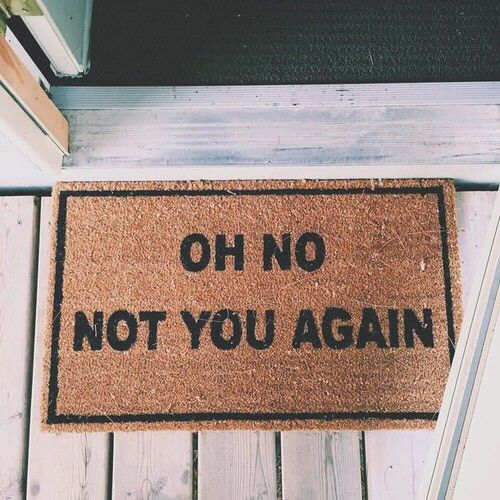 Oh No Not You Again Sweet Home Funny Pictures House