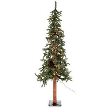 4 39 green alpine christmas tree with lights hobby lobby on sale for nov dec 2015. Black Bedroom Furniture Sets. Home Design Ideas