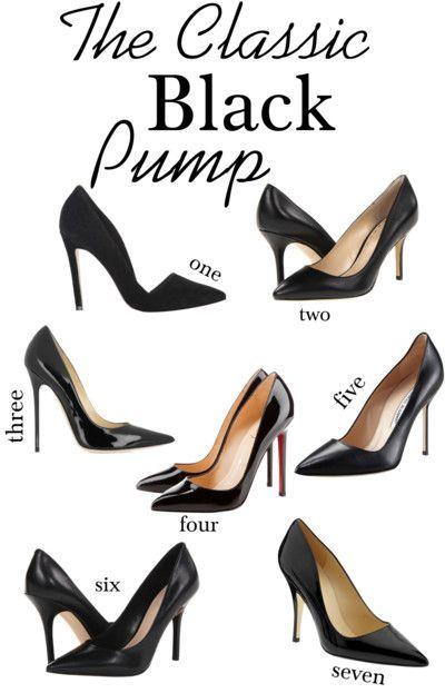 perfect black pumps